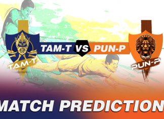 PUN vs TAM Dream11 Team Prediction Today - VIVO Pro Kabaddi League