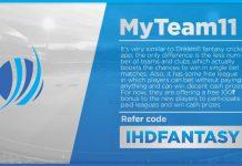 MyTeam11 Fantasy Cricket