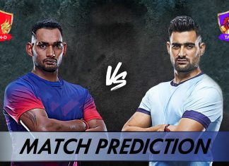 DEL VS TAM Dream11 Team Prediction Today - VIVO Pro Kabaddi League