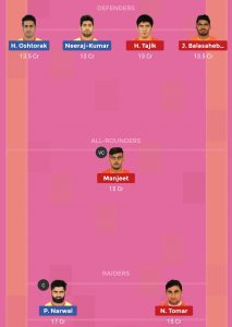 PAT vs PUN Dream11 Team For Small League