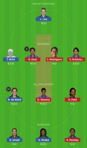 IND W vs SA W Dream11 Team for Grand league