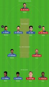 SA vs IND Dream11 Team for small league