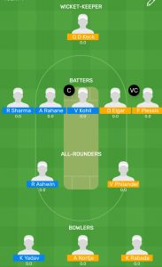 IND vs SA 3rd Test Myteam11 Fantasy Team