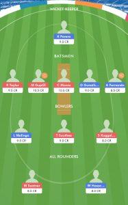 SL vs NZ BalleBaazi Fantasy Team For Today Match