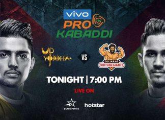 UP vs GUJ Dream11 Team Prediction Today - VIVO Pro Kabaddi League