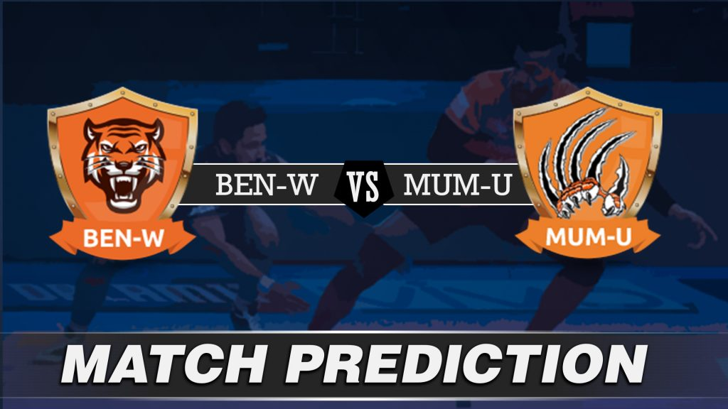 Vivo Pro Kabaddi - BEN vs MUM Team Prediction Today