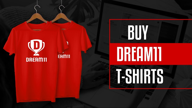 buy dream11 tshirts