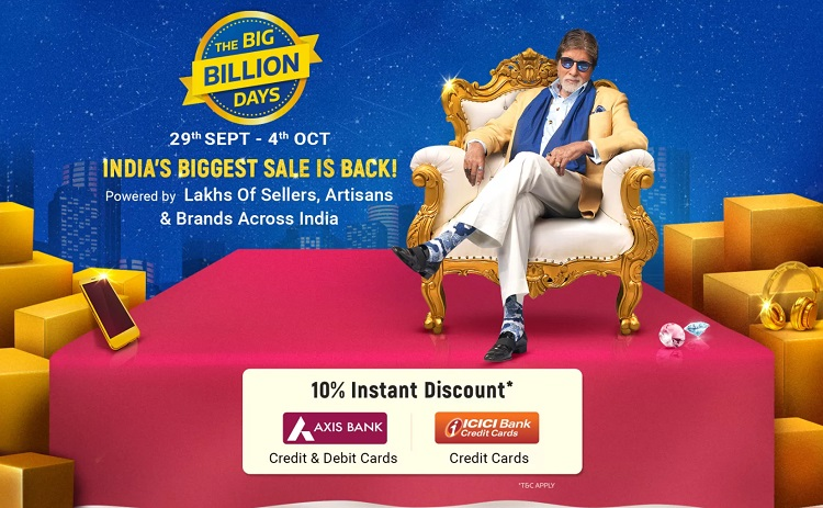 flipkart big billion day sale 2019