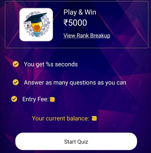 qureka play quiz
