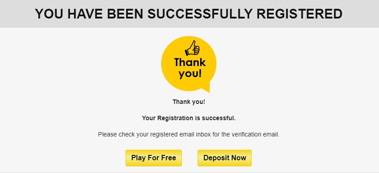 online rummyvilla registration process