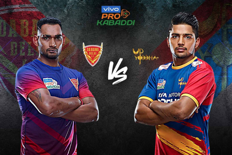 Vivo Pro Kabaddi - DEL vs UP Team Prediction Today