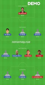 RB vs EIB Dream11 Demo Team Preview