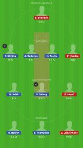 IRE vs NEP Dream11 Team for grandl league