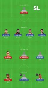 SPA vs NRW Dream11 Team For Head To Head Leagues
