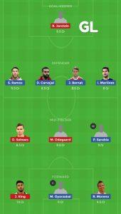 SPA vs NRW Dream11 Team For Grand Leagues