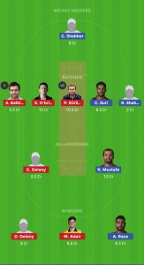 IRE vs UAE DREAM11 TEAM FOR HEAD TO HEAD