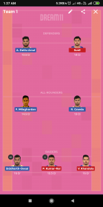 HYD vs HAR Dream11 Team For Small League