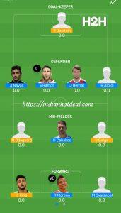 FINAL: SPA vs NRW MyTeam11 Fantasy Football H2H Team For Today's Match