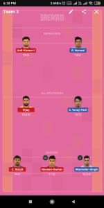 BEN vs DEL Dream11 Team For Grand League