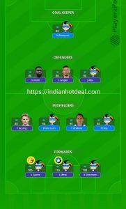 FINAL: Barcelona vs Eibar PlayerzPot Fantasy Team