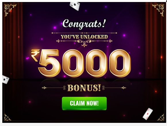 deccan rummy signup bonus up to 5000