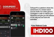 GoSuper11 Referral Code: IHD100, APK Download & Earn Rs.101 Bonus