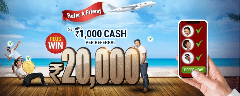 khelplay rummy refer and earn
