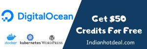 Digitalocean free credits