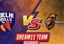 DEB vs MAR Dream11 Team Prediction T-10 LEAGUE 2019 (100% Winning)