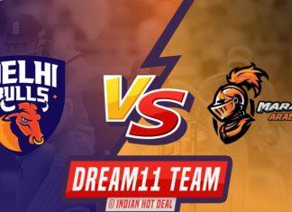 DEB vs MAR Dream11 Team Prediction T-10 LEAGUE 2019 (100% Winning)