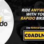 rapido referral code
