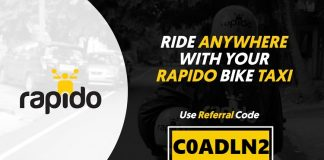rapido referral code