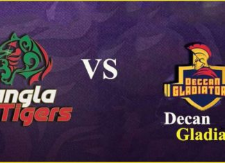T-10 LEAGUE 2019: Bangla Tigers vs Deccan Gladiators Dream 11 Prediction