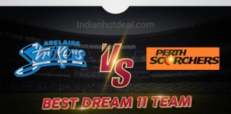 STR vs SCO Dream 11 Team Prediction Big Bash 2019-20 (100% Winning)