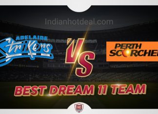 STR vs SCO Dream 11 Team Prediction Big Bash 2019-20 (100% Winning)