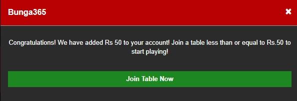 bunga365 join table