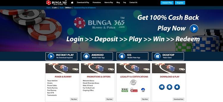 bunga365 poker website in india