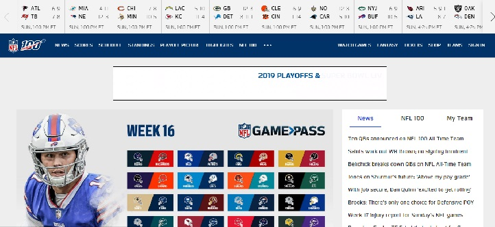 nfl football site
