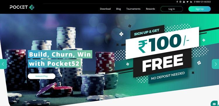 pocket52 website in india