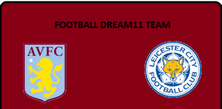 AVL vs LEI DREAM11 TEAM PREDICTION Today's Football Match.