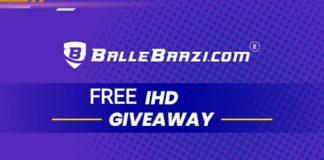 BalleBaazi 20,0000 Giveaway