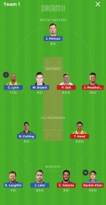 STR vs HEA Dream11 Team for Grand league