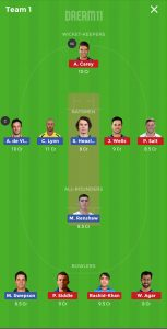 STR vs HEA Dream11 Team for Small league
