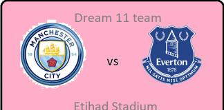 MCI vs EVE DREAM11 TEAM PREDICTION Today's Football Match.