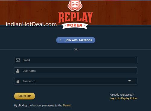 ReplayPoker referral code