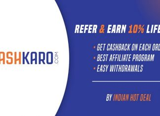 cashkaro affiliate program