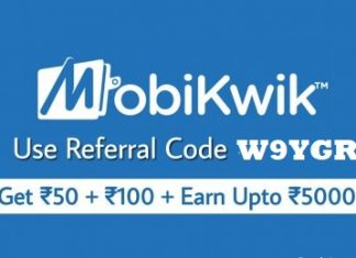 mobikwik referral code