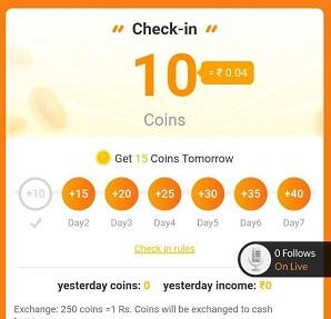 4fun app daily checkin