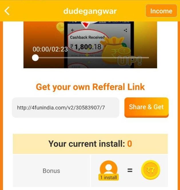 4fun app referral link