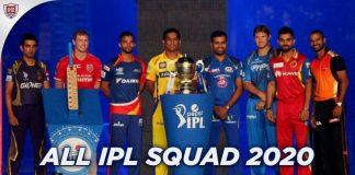 All IPL Squad 2020